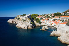 Dubrovnik town view Stock Photo