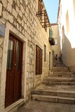 Dubrovnik ulica obrazy royalty free