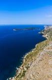Dubrovnik-Umlagerungen Lizenzfreies Stockfoto