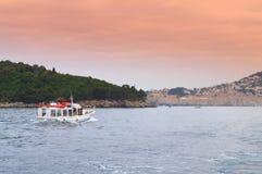 Dubrovnik utfärdfartyg Arkivfoto