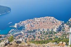 Dubrovnik van Kriz, Kroatië royalty-vrije stock afbeeldingen