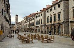 Dubrovnik - vecchia città Immagini Stock