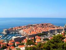 Dubrovnik - vecchia città fotografie stock libere da diritti