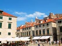Dubrovnik - vecchia città fotografia stock libera da diritti