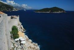 Dubrovnik verborgen bar stock fotografie