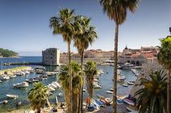Dubrovnik - vieille ville, Dalmatie, Croatie Photo libre de droits