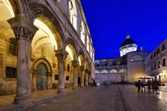 DUBROVNIK, vieille ville de la CROATIE - de Dubrovnik image stock