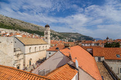 Dubrovnik. View of old town Stock Image