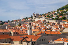 Dubrovnik. View of old town Royalty Free Stock Photography