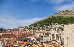 Dubrovnik. View of old town Stock Photos