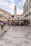 Dubrovnik. View on Stradun Royalty Free Stock Photo