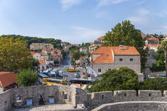 Dubrovnik. View of town from walls Royalty Free Stock Photos