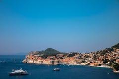 DUBROVNIK - vista, panorama Fotografia de Stock Royalty Free