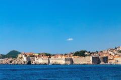 Dubrovnik-Wände lizenzfreies stockbild