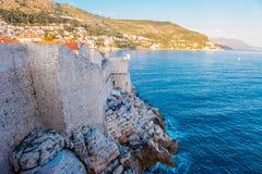 Dubrovnik-Wände Lizenzfreie Stockfotos