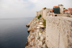 Dubrovnik-Wände Stockbild