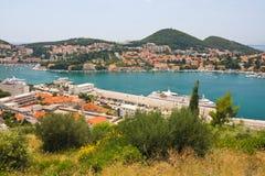 Dubrovnik w Chorwacja obraz royalty free
