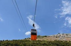 Dubrovnik wagon kolei linowej fotografia stock