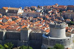 Dubrovnik walls Stock Photo