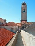 Dubrovnik walls pass Stock Photos