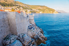 Dubrovnik walls Royalty Free Stock Photos