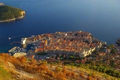 Dubrovnik widok 32 zdjęcie stock