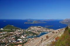 Dubrovnik widok 36 fotografia stock