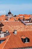 Dubrovnik widok od wzrosta Obrazy Royalty Free
