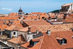 Dubrovnik widok od wzrosta Fotografia Royalty Free