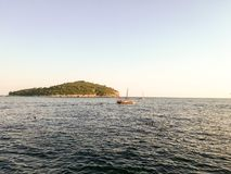 Dubrovnikeiland Lokrum Stock Foto's