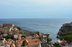 Dubrovnikmuur Royalty-vrije Stock Afbeelding