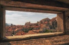 Dubrovnikstad in zuidelijk Kroatië Royalty-vrije Stock Afbeeldingen