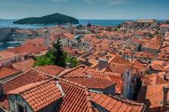 Dubrovnikstad in zuidelijk Kroatië Royalty-vrije Stock Fotografie