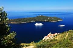 Dubrovniktoevlucht Stock Foto's