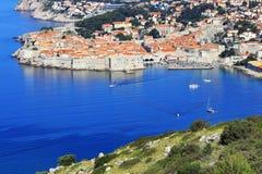 Dubrovniktoevlucht Royalty-vrije Stock Afbeeldingen