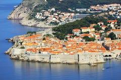 Dubrovniktoevlucht Royalty-vrije Stock Fotografie