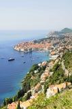 Dubrownik and coastline of Dalmatia Stock Photos