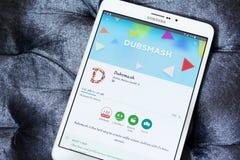 Dubsmash APP Image stock