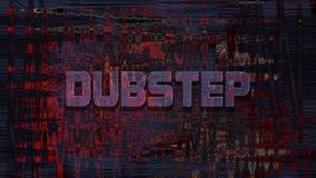 Dubstep, 3D翻译 免版税库存图片