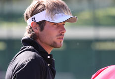 Dubuisson at golf French Open 2010 Royalty Free Stock Images