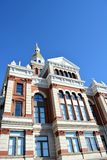 Dubuque County Courthouse Iowa. Front view of the Dubuque County Courthouse in Dubuque, Iowa Royalty Free Stock Images