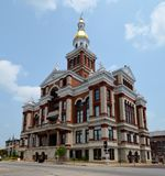 Dubuque County Courthouse Royalty Free Stock Images