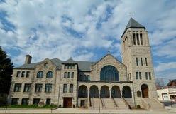 Dubuque kyrka arkivfoto