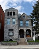 Dubuque Stone Mansion Stock Photography