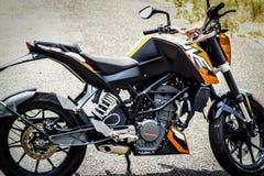 Duc 200 de KTM Photos libres de droits