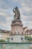 Duca Eberhard Ludwig in Ludwigsburg, Germania immagini stock libere da diritti