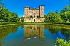 Ducal Aglie ` kasztel w Podgórskim, Włochy Zdjęcia Royalty Free