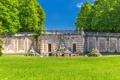 Ducal Aglie ` kasztel w Podgórskim, Włochy Fotografia Royalty Free