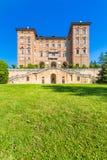 Ducal Aglie ` kasztel w Podgórskim, Włochy Zdjęcie Stock