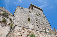 Ducal castle. Ceglie Messapica. Puglia. Italy. Stock Image